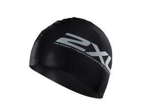 2XU_Latex_Swim_Cap_black