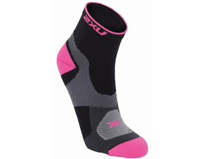 2XU_Racing_Cycle_Vectr_Qtr_Sock_BLK-FLP