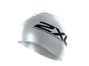 2XU_Silicone_Swim_Cap_silver