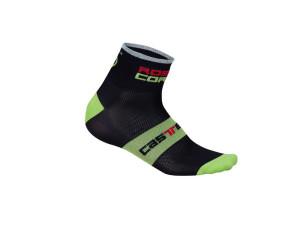 Castelli_RossoCorsa6_Socks_BLKGRN