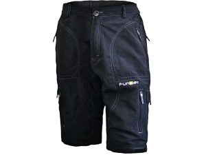Funkier_MTB_Black_Baggy_Pro_Shorts_BLK